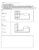 Circuit Worksheet - Series and Parallel - Electricity