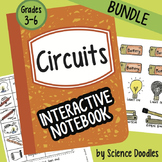 Doodle Notes - Circuits Interactive Notebook BUNDLE by Science Doodles