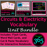 Circuits & Electricity Vocabulary Unit Bundle