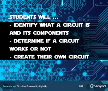 Circuits - Powered by LightUp