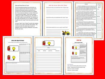 Circuits: Science and Literacy Lesson Set (TEKS)