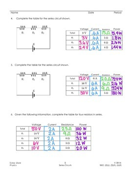 Circuits: Series