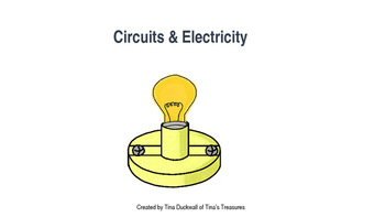 Circuits(Series and Parallel) Interactive Notebook Assignments