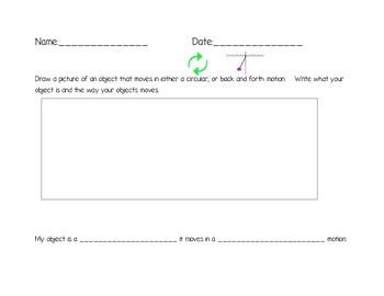 Circular / Back and Forth Motion Activity