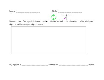 Circular / Back and Forth Motion Activity