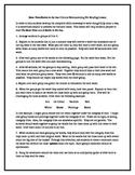 Circular Brainstorming Pre-Reading Activity