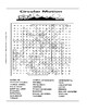 Circular Motion Word Search or Wordsearch