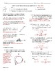 Circular Motion Worksheet Pack 1 (No Forces)