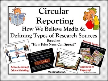 Fake News (Circular Reporting: How False News Spreads)