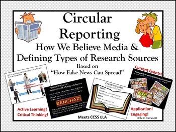 Circular Reporting: How False News Spreads