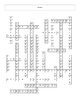 Circulation and Respiration Systems Crossword puzzle with key