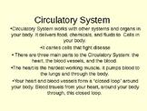 Circulatory Ptt.