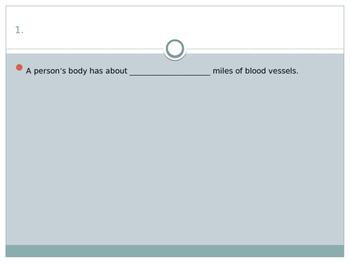 Circulatory Quiz for Research