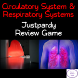 Circulatory & Respiratory Systems Justpardy Review Game PowerPoint
