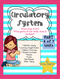 Circulatory System NGSS LS1: inquiry, worksheets, visuals,