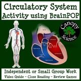 Circulatory System Activity using BrainPOP