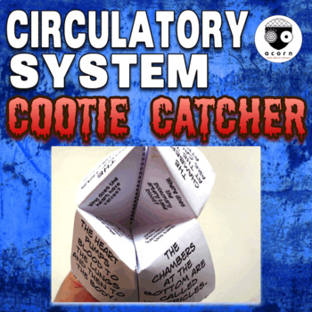 Circulatory System Cootie Catcher