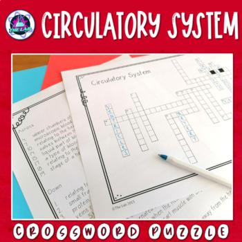 Circulatory System Crossword Puzzle