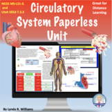 Circulatory System Distance Learning NGSS NGSS MS-LS1-3 and Utah SEEd 7.3.3