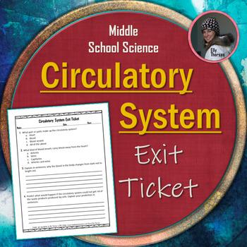 Circulatory (Cardiovascular) System Exit Ticket