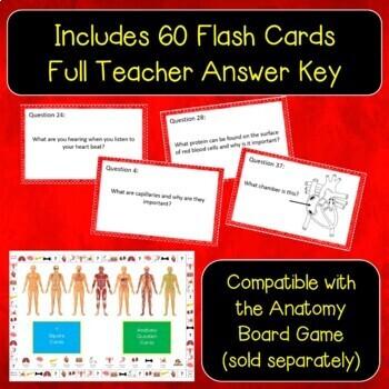 Circulatory System Flash Cards