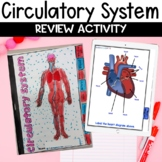 Circulatory System for Google Classroom Flip Book Review Activity