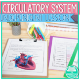 Parts and Functions of the Circulatory System Worksheets a
