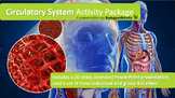 Circulatory System Lesson- PowerPoint Presentation Activit
