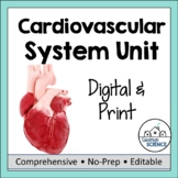 Circulatory System or Cardiovascular System Unit