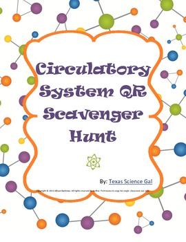 Circulatory System QR Scavenger Hunt