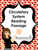 Circulatory System Reading Passage