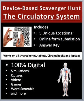 The Circulatory System – Device-Based Scavenger Hunt Activity-Let the Hunt Begin