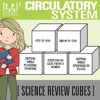 Circulatory System Science Cubes