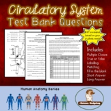 Circulatory System Test Bank Questions