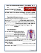 Cardiovascular Circulatory System Unit - Worksheets, Activ