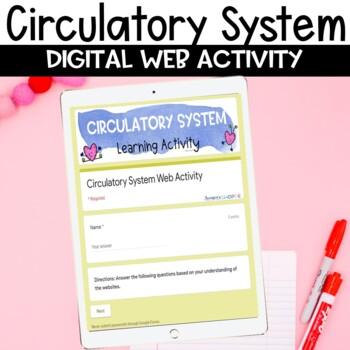 Circulatory System Web Search Internet Activity