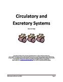 Circulatory and Excretory Systems Quiz