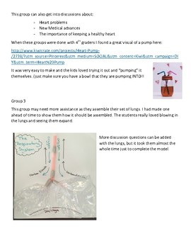 Circulatory and Respiratory Stations