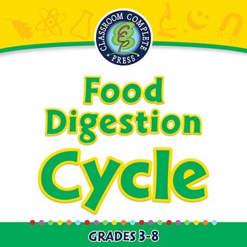 Circulatory,Digestive & Reproductive Systems: Food Digestion Cycle - PC Gr. 3-8