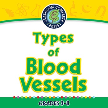Circulatory,Digestive & Reproductive Systems: Types of Blood Vessels-PC Gr. 3-8