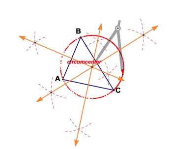 Circumcenter Compass Construction worksheet