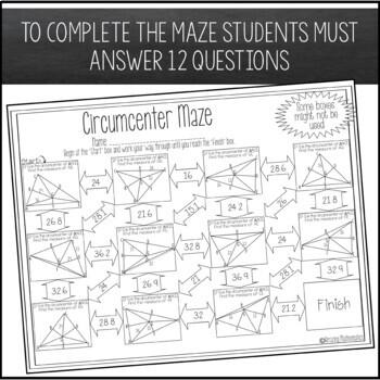 Circumcenter Maze