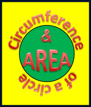 Circumference And Area Of A Circle