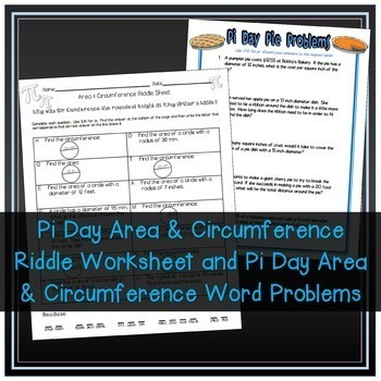 Area And Circumference Of Circles More A Circle Bundle Tpt