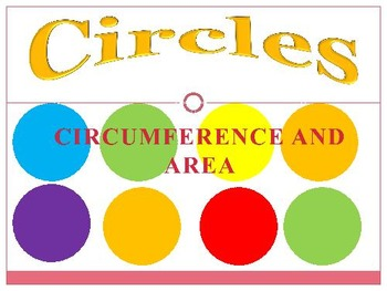 Circumference & Area of Circle Real World Problems