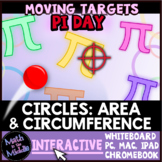 Pi Day Game - Circumference & Area of Circles Interactive Review Game