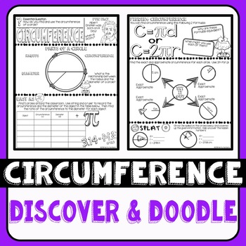 Circumference Doodle Notes