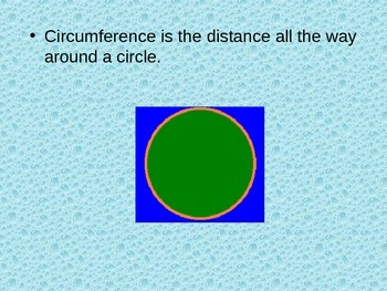 Circumference Example PowerPoint