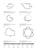 Circumference Perimeter Circles Compound Composite Shapes Geometry Worksheet