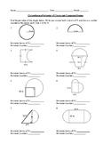 Circumference & Perimeter Circles & Compound Shapes Geomet